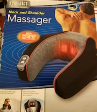 NECK AND SHOULDER MASSAGER 2267 mi