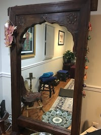 Antique free standing rosewood mirror Arlington, 22204