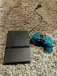 PS2 slim with rare controller