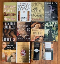 Anne Rice Novels (12 in collection)
