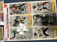 Uncut 1993 Football cards Seattle, 98119