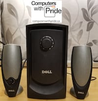 Dell ZYLUX Multimedia Computer 2.1 Speaker System with 30 day warranty Toronto