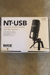 NT-USB Rode Microphone