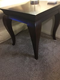 Coffee table + 2 end tables Alexandria