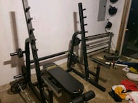 Half squat rack w/ bench Charles Town, 25414