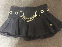 Tripp skirt with gold chain size 0