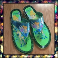 Disney Store Tinker Bell Sandals Girls size 3 Columbia, 21044