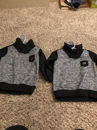 gray and black pullover hoodie Hayward, 94544