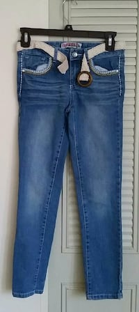Girl's jeans size 10 made by Squeeze Monrovia, 21770