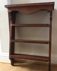 """Shelf Rustic Solid Pine 25"""" high x 17"""" wide and shelves 5"""" deep Paramount, 21742"""