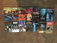 Assorted movie dvd case lot Burlington, L7P 2L8