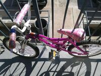 pink and white bicycle with training wheels Vista, 92083