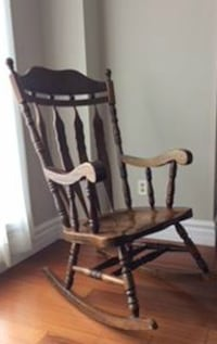Solid Oak Rocking Chair Milton