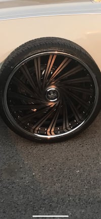 Rims 24 inch staggered DUB. Brand new Seattle, 98144