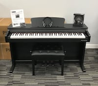 NEW - Digital Piano with Bench and Headphones - Purchase, Rent or Finance - 1 Year Warranty Lutz, 33559