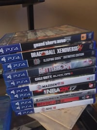 Ps4 1TB 11 games no controller Kitchener, N2A 2R6