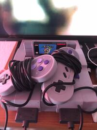Super Nintendo!!! Gently used !! Comes with all the games that are in a pictures. Super fun. Arlington, 76016