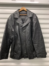 GUESS Leather Coat/Jacket Sparrows Point, 21219