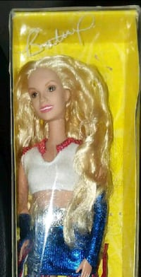 Britney Spears Pepsi commercial collectible doll 2273 mi