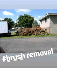 Junk, brush, and trash removal $50 pickup load Minneapolis