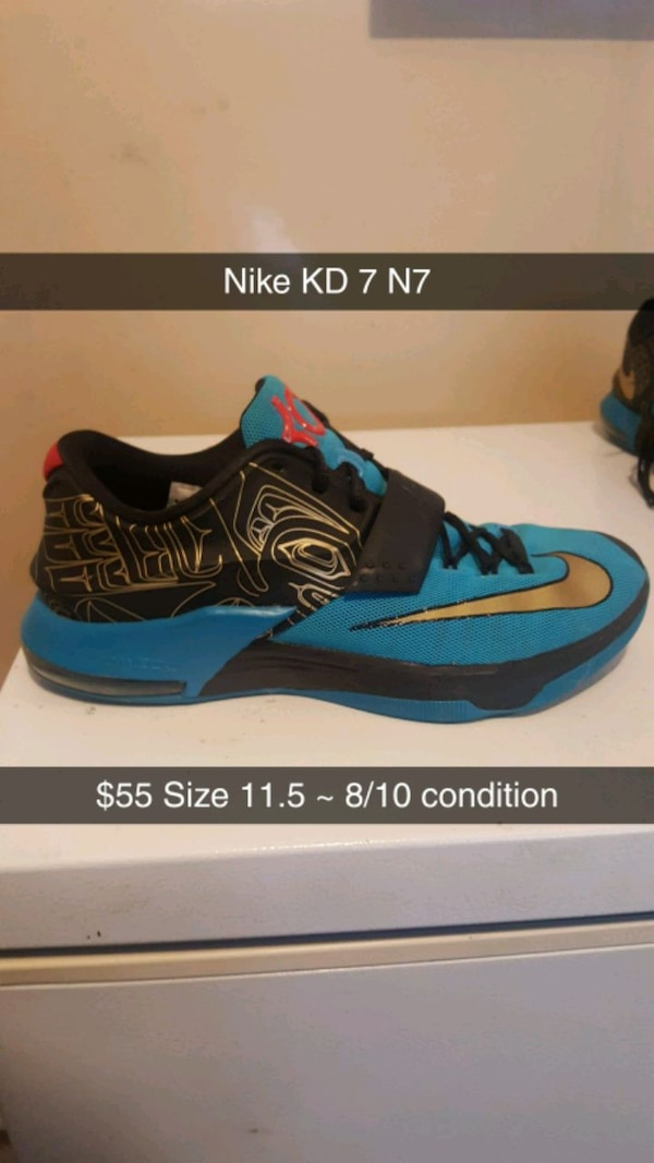 the best attitude cfc4a 04e69 Nike KD 7 n7 size 11.5