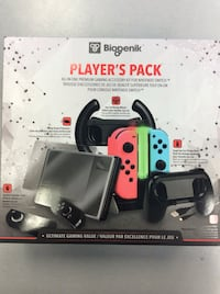 Nintendo Switch Players Pack - BRAND NEW SEALED! Mississauga, L5J 1J6