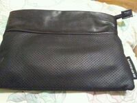 black and gray leather bag Edmonton, T5M 0T5
