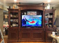 NEGOTIABLE Ethan Allen Wall Unit with TV Lift Dumont, 07628
