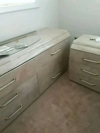 two gray and white plastic drawers Suitland-Silver Hill, 20746