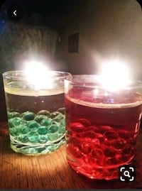 Custom water candles