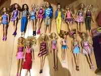 Assorted Barbie Dolls with accessories Vaughan, L4K 5L6