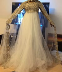 Wedding/prom dress str 14/16  Bergen, 5055