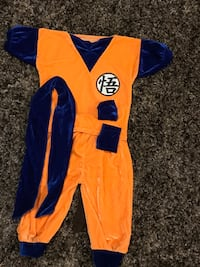 Police Officer, Dragon Ball Z, Pikachu (size 2 years old) Gaithersburg, 20878