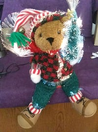 Sparkling Holiday Lighted Bear Dumfries, 22026