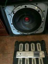 Kenwood 12 and kenwood 800 watt amp Philadelphia