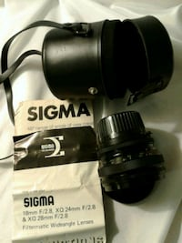 RARE SIGMA FILTERMATIC WIDEANGLE LENS