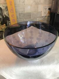 Deep Blue Blown Glass Bowl Saint Petersburg, 33704