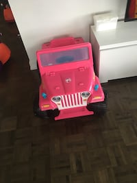 Barbie Jeep (for toddlers) Brampton, L6Y 4S5