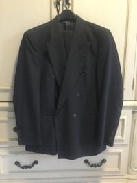 Navy suit with light pin stripes  Innisfil, L9S 0A5