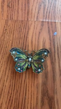 beaded gray and green butterfly accessory Potomac, 20854