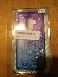 S9 plus moving glitter case with protective screen Decatur, 30034
