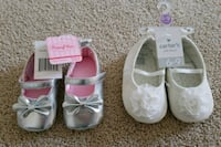 Baby girl shoes 6-9 months, new Warrenton