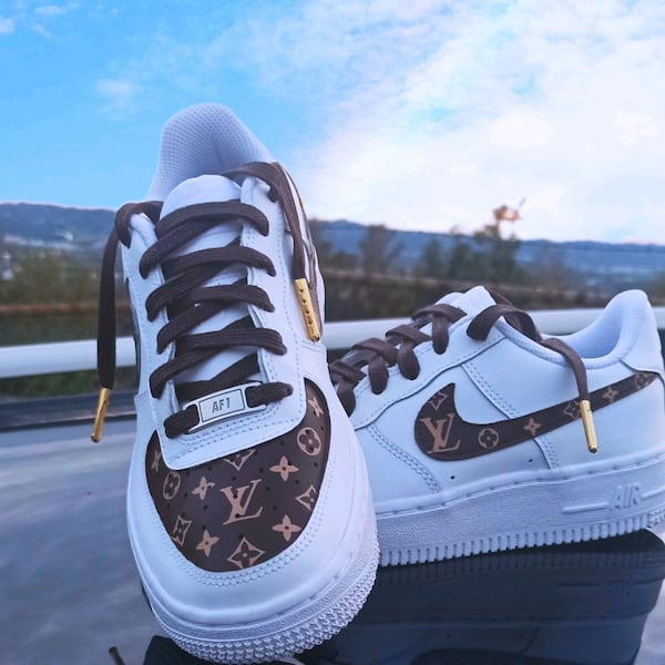 Used Nike Air Force 1 Louis Vuitton Custom Shoes For Sale In Burbank Letgo