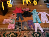 Baby girl size 18 mo clothes Douglasville, 30135