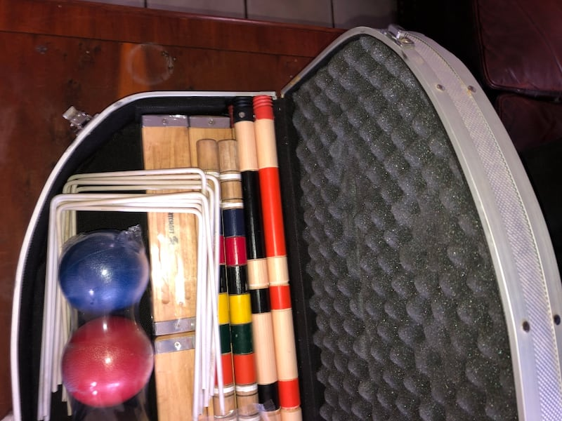 Sports Craft Croquet Set. 2
