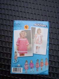 SEWING PATTERN Clear Spring, 21722