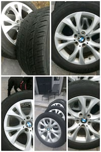 BMW X3 Genuine OEM 4 wheel Rims, all season tires Oakville, L6L 2G4