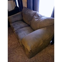 Green Olive Couch, Great Condition, comfy.  Riverside, 92505