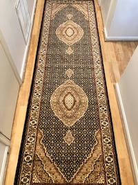 Turkish hallway runner carpet size 3x10 nice black rug runners