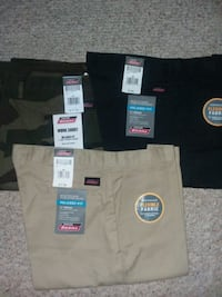 All 3 New pair of Dickies shorts size 40 Odenton, 21113